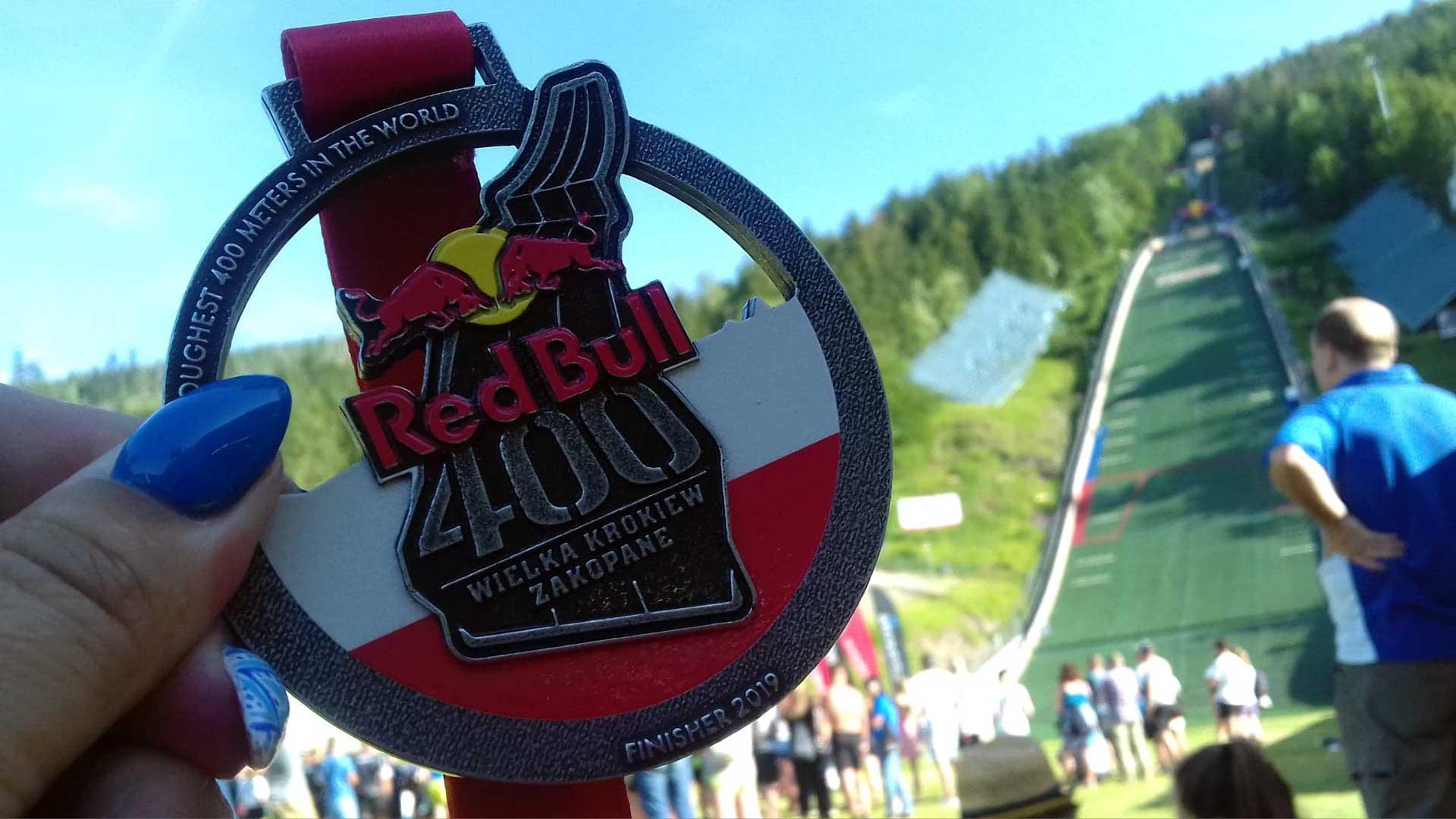 Medal Red Bull 400